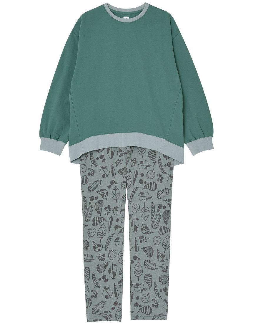 秋色ジャカード パジャマ