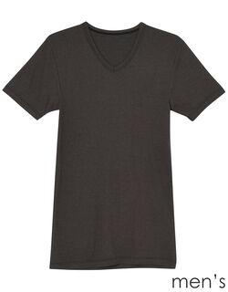 吸湿発熱 メンズ半袖シャツ