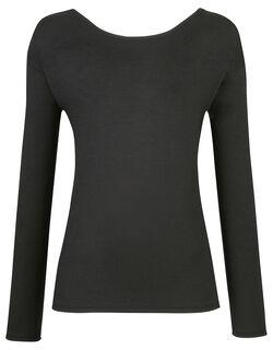 【あったかTシャツ】一枚で着られるアウタータイプ  トップス(長袖)
