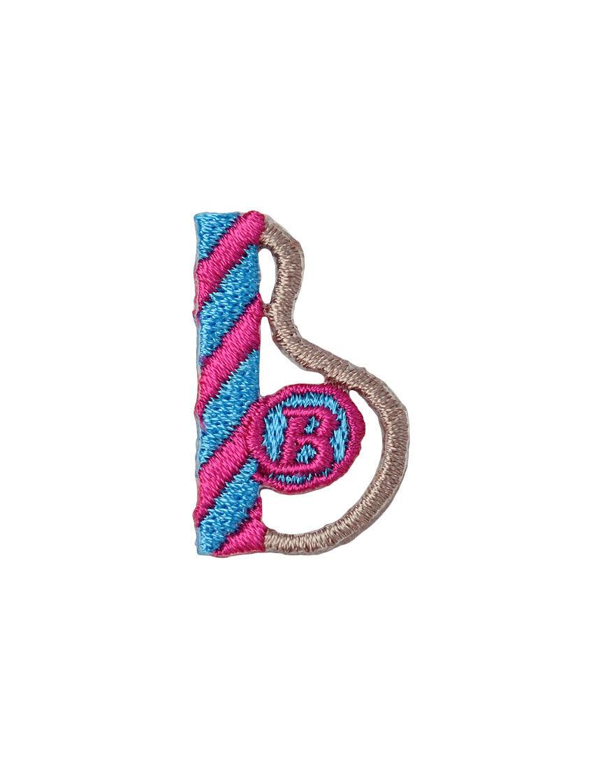 アルファベット b アップリケ