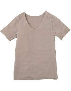 年中使える◎綿混素材 メンズシャツ(半袖)