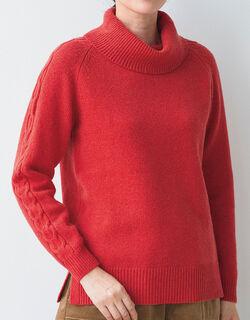ウールデザインセーター
