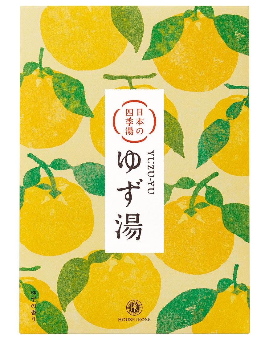 日本の四季湯 ゆずの香り, , hi-res