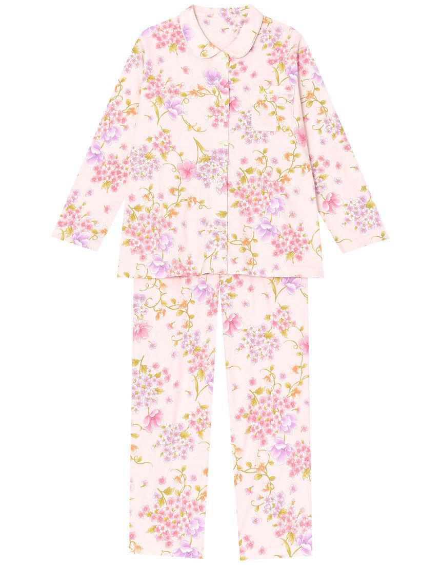 【綿100%】グラマラス柄 パジャマ