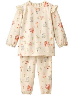 ひとり歩きがはじまったら 女児パジャマ