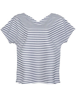 クーリングTシャツ 洋服に合わせて前後逆にして着用可能な トップ(3分袖)
