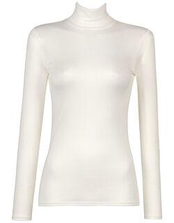 一枚で着られるアウタータイプ。 あったかTシャツ トップ(フルスリーブ・ハイネック)