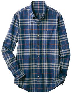 コットンカジュアルシャツ(男性用)