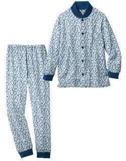 ベロア付ニットキルトパジャマ(男性用)