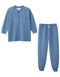 【長袖】 紳士パジャマ