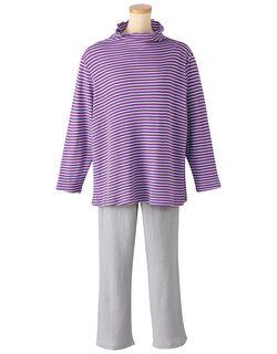 ふわりら(R)・綿100%【長袖】 パジャマ