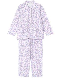 【長袖パッチンボタン(R)】 パジャマ
