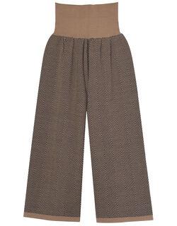 編みパンツ ルームウェア