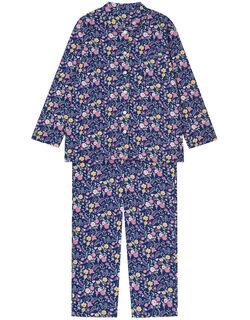 【綿100%】フルール柄 パジャマ