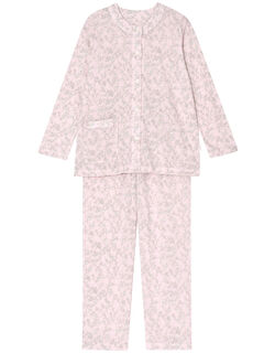 フラワードット柄 パジャマ