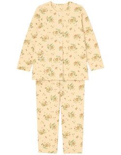 キルトニット フラワー柄 パジャマ