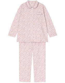 【肌側綿100%】木の実柄 パジャマ