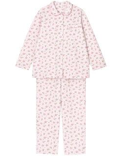 【肌側綿100%】ミニバラ柄 パジャマ