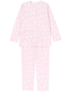 すずらん柄 パジャマ