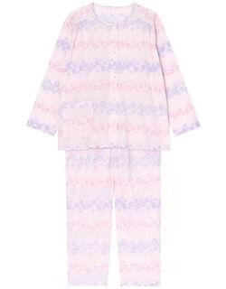 【綿100%】ガーデン柄 パジャマ