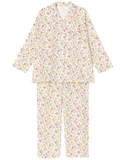 【綿100%】【二重ガーゼ】エレガント柄 パジャマ