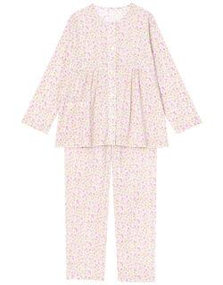 【綿100%】キャンディフラワー柄 パジャマ