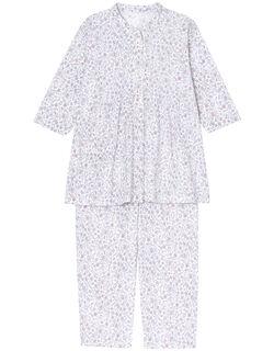 更紗調柄 パジャマ