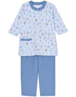 花摘み柄 パジャマ