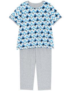 【綿100%】ー列お花柄 パジャマ