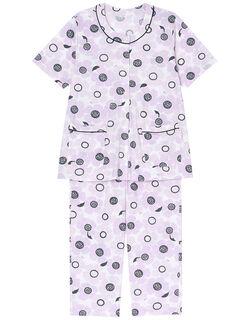 【綿100%】おおきなお花柄 パジャマ
