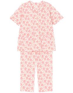 【綿100%】マーガレット柄 パジャマ