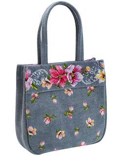 フェイラー 花柄トートバッグ