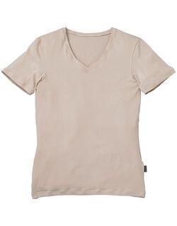 やさしい肌ざわりの、綿混インナー メンズシャツ(半袖)