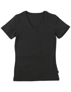 BROSNo.1の保温性 V首半袖シャツ