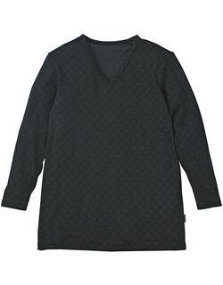 V首長袖シャツ