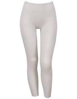 綿混&肌あたりのやさしい[保温性] ボトムス(足首丈)