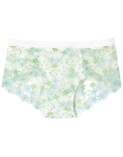 Sunny flower cotton ボーイレングスショーツ