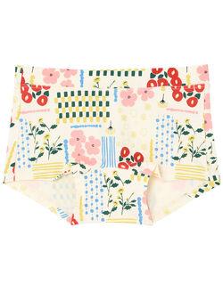 綿ベア天竺日本の庭 サニタリーショーツ