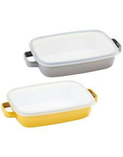 【2色組】 オーブンディッシュ浅型2色組
