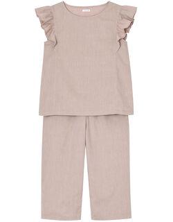 綿100% コットンダンガリー パジャマ