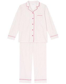 綿天竺プチドット パジャマ