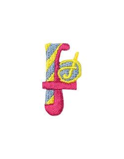 アルファベット f アップリケ