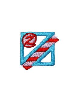 アルファベット z アップリケ