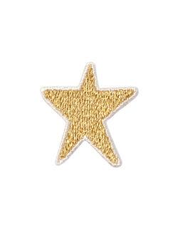 星 アップリケ