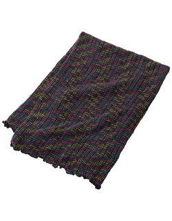 マルチカラー編みマルチウォーマー
