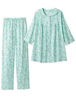 【綿100%】 高島楊柳のふんわりパジャマ