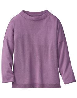 ホールガーメント七分袖セーター