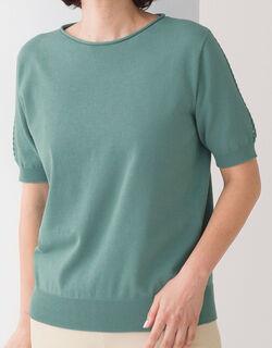 ホールガーメントデザインセーター