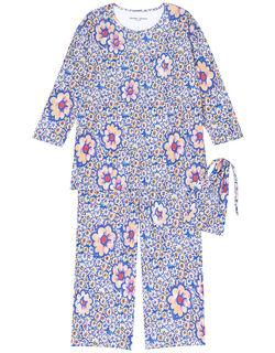 【シルク100%】 パジャマ(巾着付)