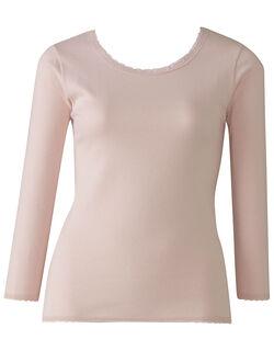 綿ウール トップス(8分袖)
